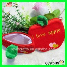 Fruit Coin Bag Highly Collectible Plush Apple Coin Bag