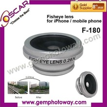 Other Accessories & Parts mobile phone lens Fisheye lens FE-180