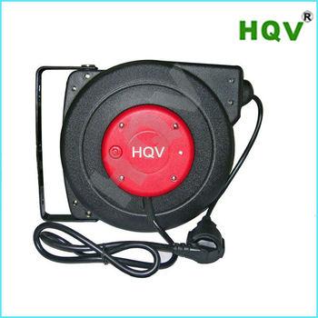 extension cord reels retractable 220v power cord reel