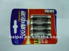 Battery series paper plastic blister packaging machine