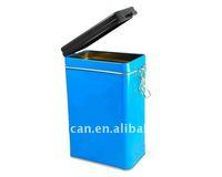 metal dog food tin box