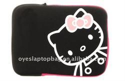 hello kitty neoprene bags for ipad/ ipad 2 bag