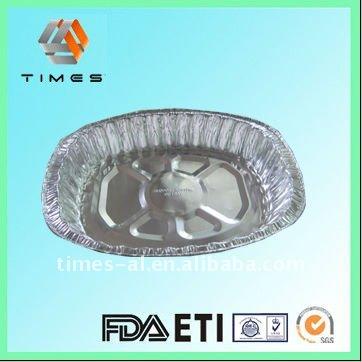 Roasting aluminium foil tray