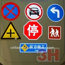 reflective safety road signs vinyl materials