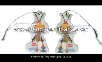 2012 top quality paper air freshener car perfume