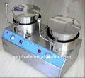 Automático duplo pote máquina de pipoca doce