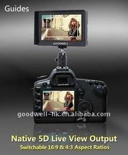 5 Inch 16:9 Super Slim HDSLR HDMI Camera Monitor 1080i/p