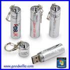 Metal battery shape usb stick free logo lowest price