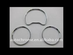 Mercedes Benz W202 96-00 Chrome Dash Board Gauge Ring Set
