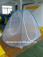 folding and folded pop up mosquito net tent for DRSMN