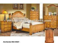 top quality home furniture / carved bed room set / solid wood modern design bedroom