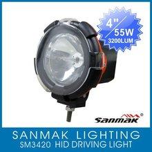 "4"" ATV,moto,SUV, 4X4 off road excavator HID xenon offroad light headlamp SM3420"