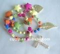 handmade perline di legno braccialetto rosario