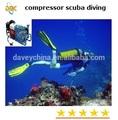 Scuba/paintball 265l/min compressor, 300bar/4500psi