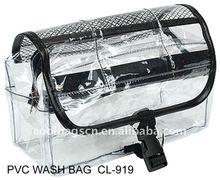 2015 manufacturer beautiful ladies tioetry kits PVC wash bag travel