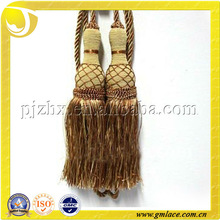 double fancy curtain tieback tassel for decorating curtain