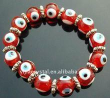 Super Quality Charm Bracelet Turkey Eyes Lucky Evil Eye Azure Bead Muslim Adorn Red Jewelry Bracelet