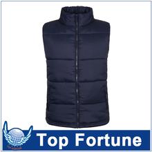 custom padded man vest