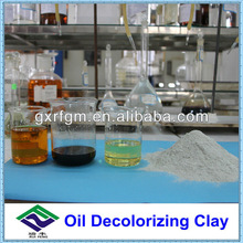 High activity decoloration and purification clay