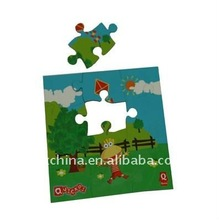 Hot promotional fridge magnet magnetic jigsaw puzzle