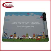 Promotional fridge magnet writing board