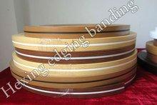 clear wood grain edgebanding tape with good protector on furniture edge corner