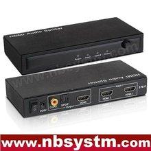 2x1 HDMI Audio Splitter (2xHDMI to input, 1xHDMI+SPDIF+coaxial output)