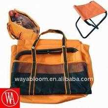 folding chair cooler picnic bag