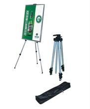 Folding display aluminum easel stand