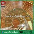 Açoinoxidável 304 spiral staircase/space saver escadas