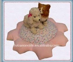 plush flower dog cat pet bed, on sale PB-130
