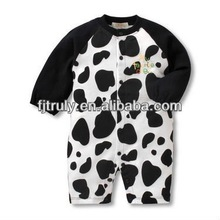 Cow design baby garment
