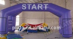 New Design Advertising Inflatable Arch/advertising inflatable tomato with required logo
