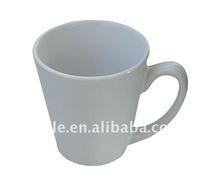 yiwu taile brand big conical white sublimation mug