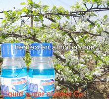 Organic Calcium liquid fertilizer,sugar alcohol calcium fertilizer