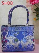 Thailand Elephant Silk Bag