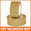 TAN Adhesive BOPP packing tape 2.0 MIL For Carton Sealing