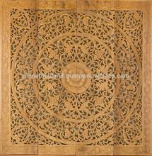 Carved Wood Panels