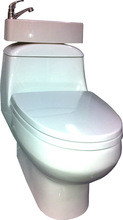 ECOFlush Toilet Wash Basin
