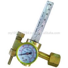 CO2 or ARGON REGULATOR WITH FLOWMETER