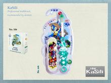 KaSili Wholesale Kids Toothbrush - Rabbit with Skateboard