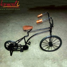 Miniature Decorative Iron Bicycle - Handmade Metal Craft - Various Design, Size, Color Options Available