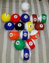 Soccer Billiard Balls