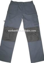 Work Pants with Knee Pad/men's multi pockets work pants