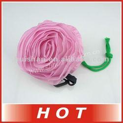 Full color roses foldable shopping bag