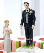 Almost Perfect Frog Prince Wedding Couple Figurine