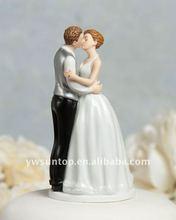 Romance Kissing Couple Figurine wedding cake ornaments