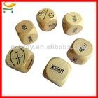 Wood Bar Sex Dice Games Set