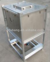Liquid stainless steel IBC tank