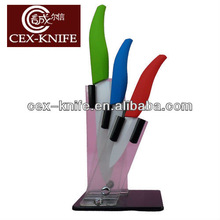 3 pcs ceramic knife set